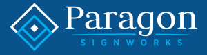 Phoenix Sign Company paragon sign logo phoenix bg 300x81